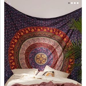 Urban Outfitters Plum & Bow Medallion Tapestry